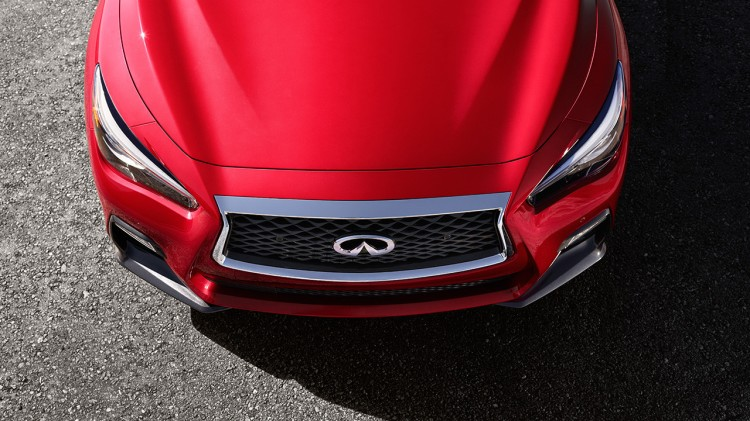 2018-infiniti-q50-red-sport-sedan-double-waved-hood-original