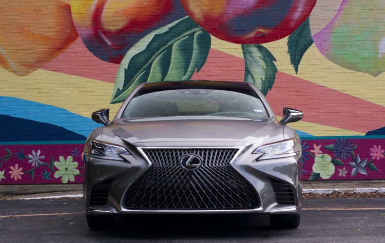 LS 500 grille